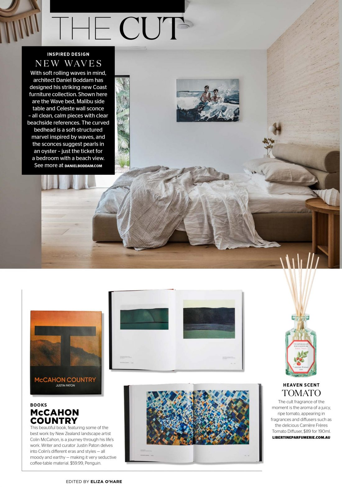 Inside Out Magazine - Wave Bed