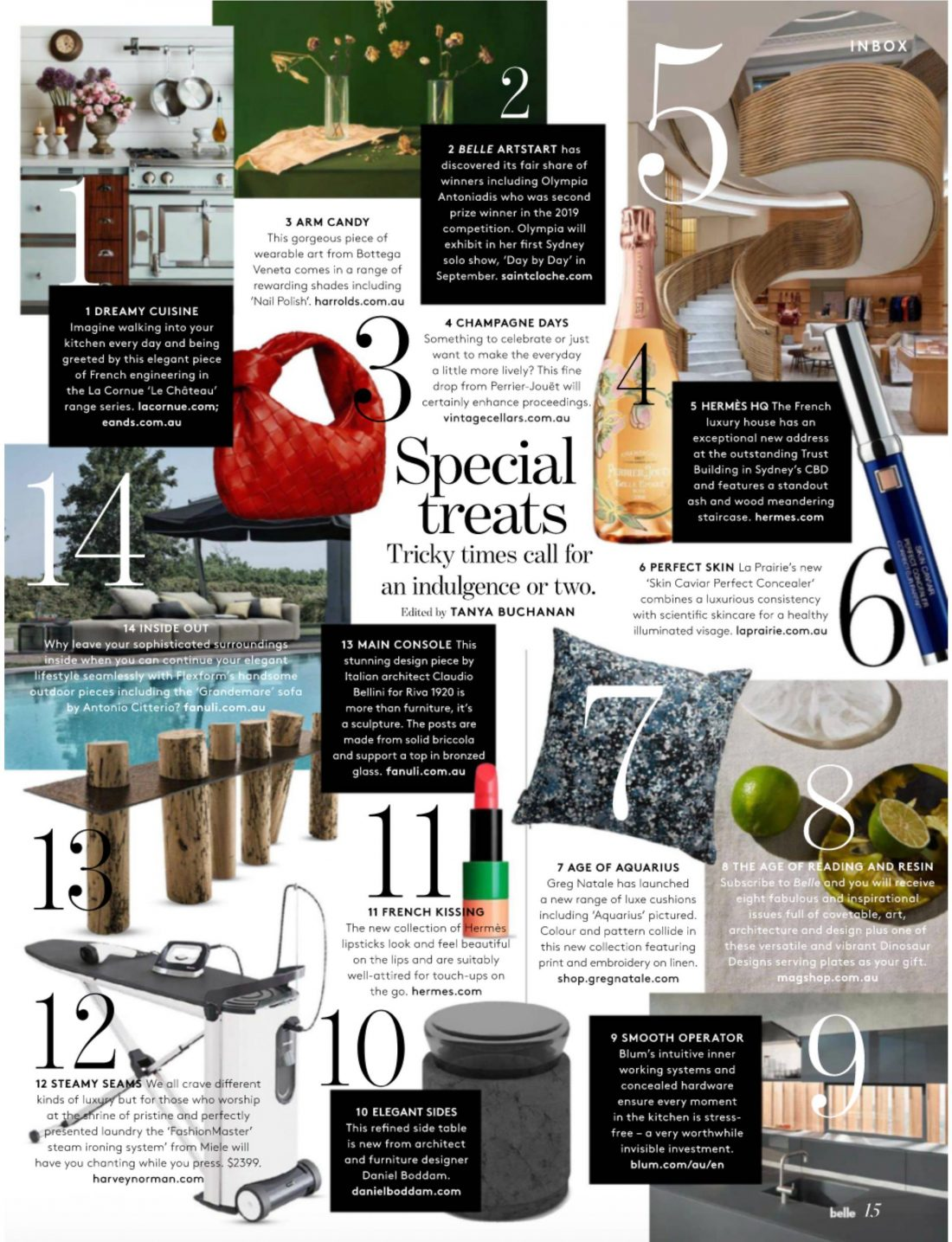 Belle Magazine - Bubble Side Table