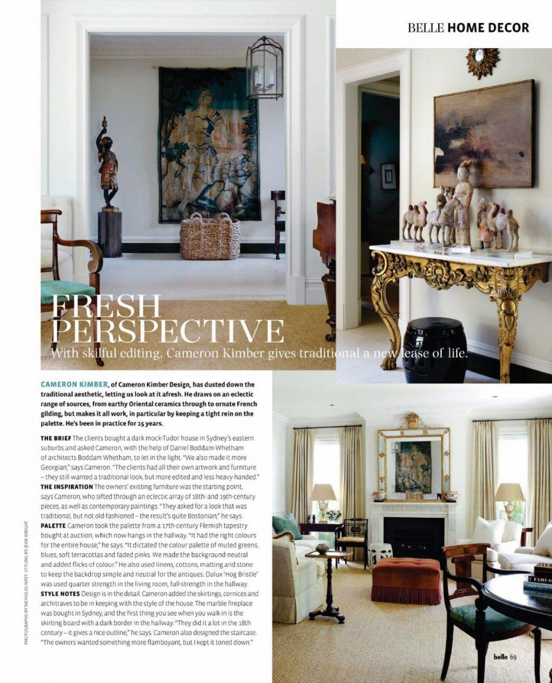 Belle Magazine - Bellevue Hill Residence