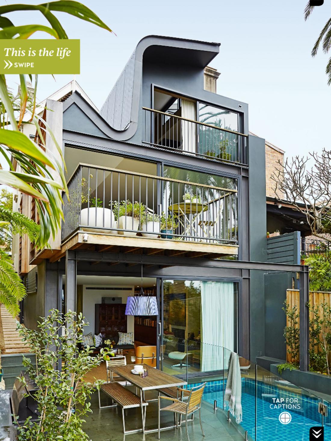 House & Garden Magazine - Birchgrove Residence