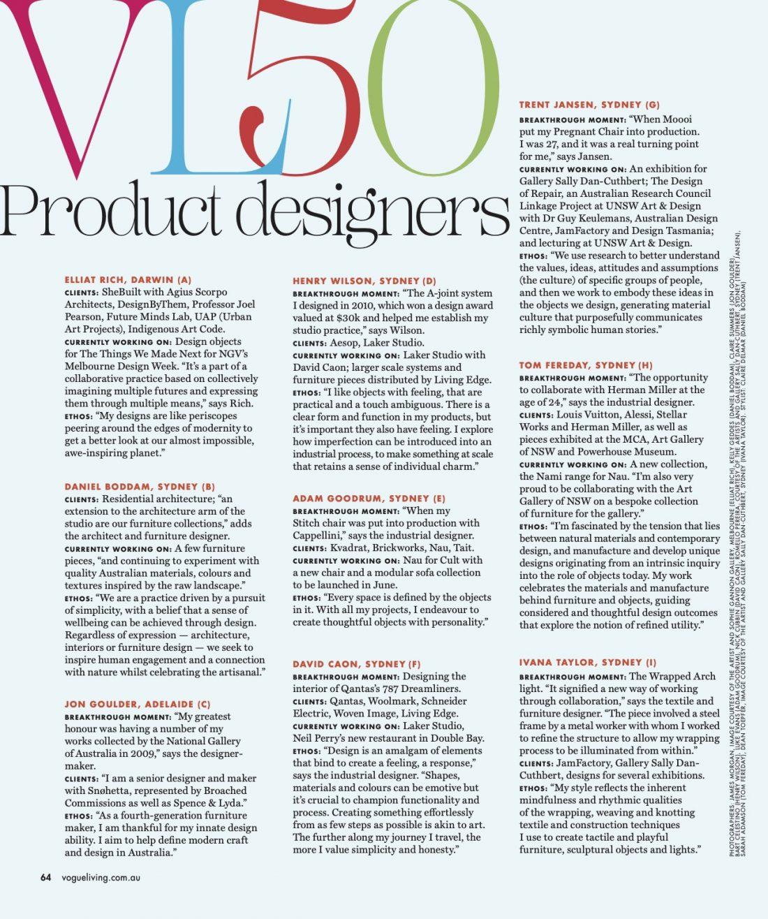 Vogue Living - VL50 & Geo Drum