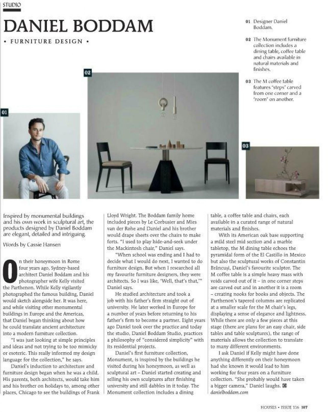 Houses Magazine - Monument