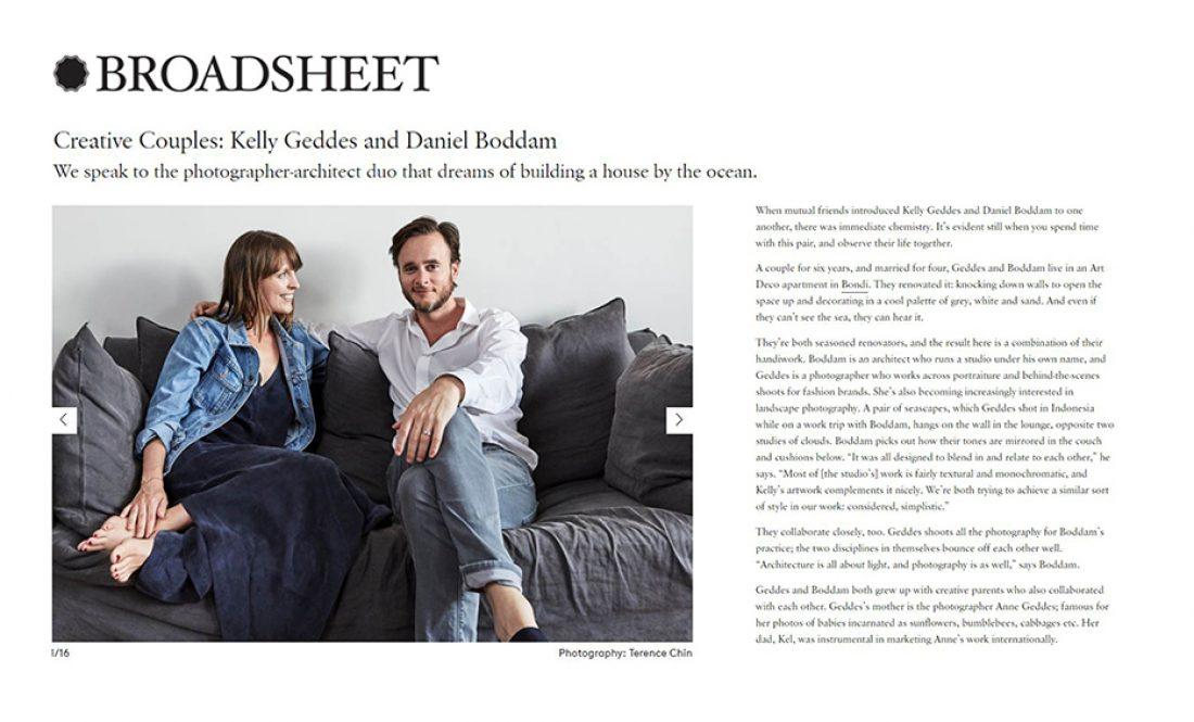 Broadsheet - Daniel Boddam