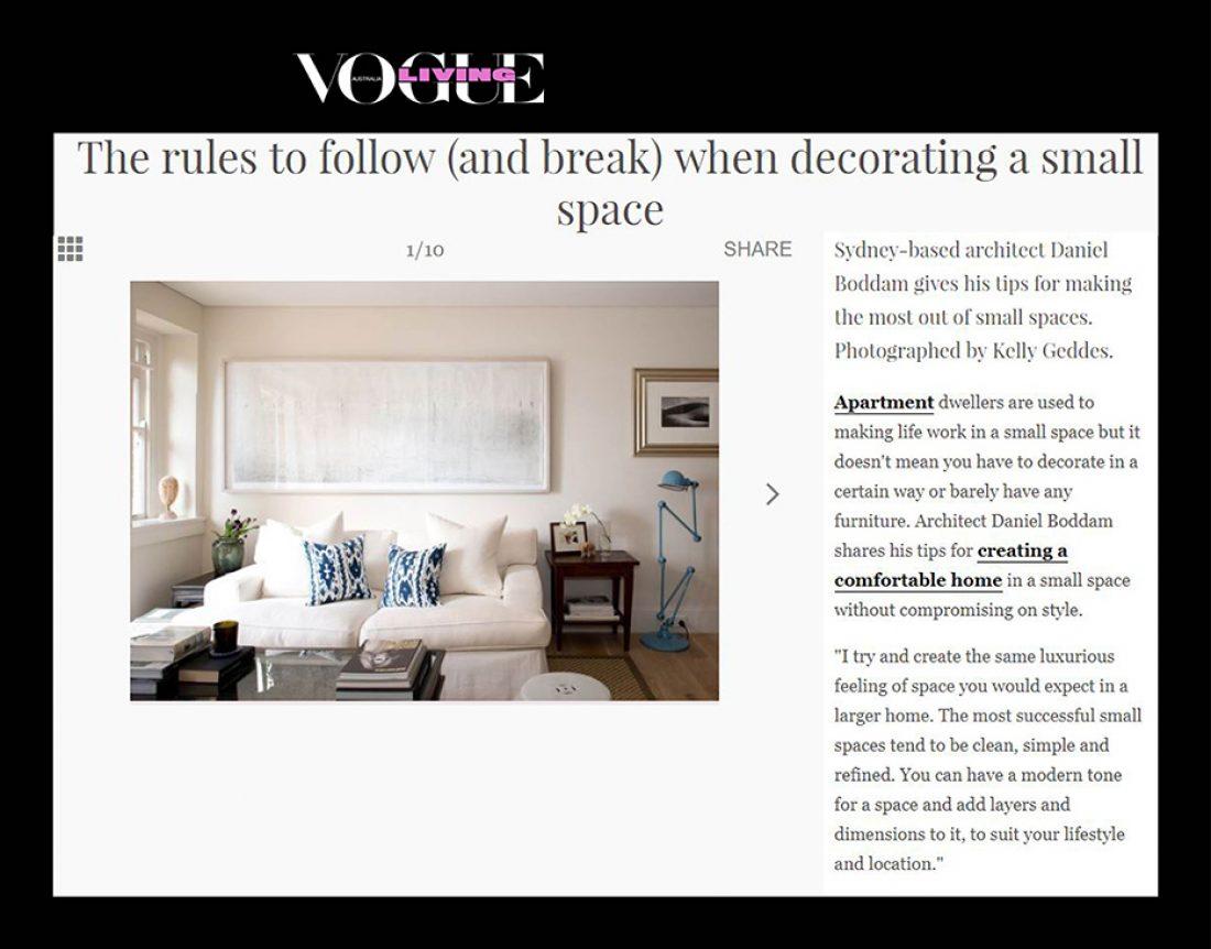 Vogue Living - Daniel Boddam