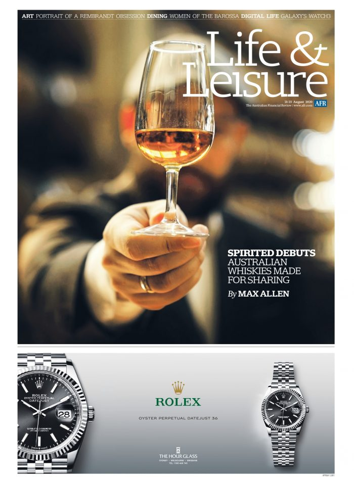 Aust Financial Review, Life & Leisure - Geo Coffee Table 21/08/20