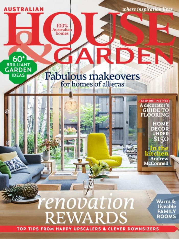 House & Garden Magazine - Birchgrove Residence 11/09/15