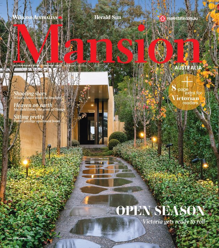 The Weekend Australian, Mansion Magazine - Geo Side Table 05/09/20